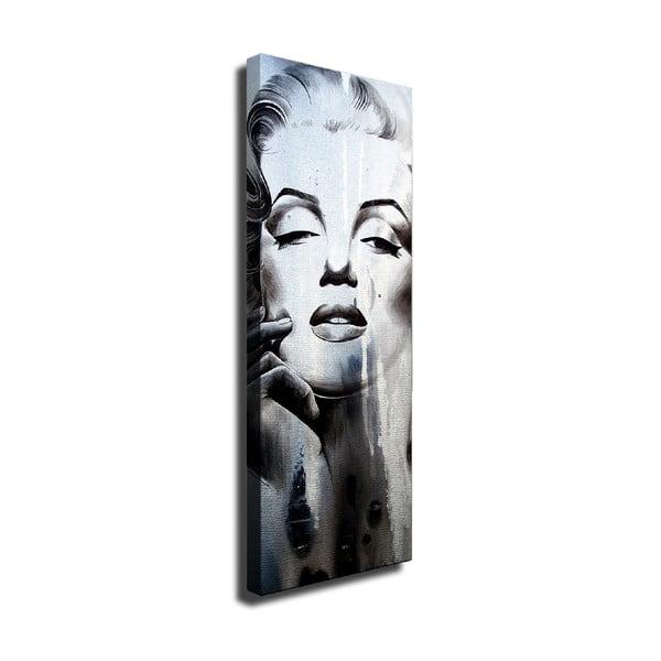 Tablou pe pânză Marilyn, 30 x 80 cm