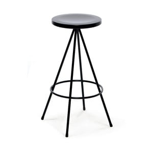 Venkovní barová stolička Mobles 114 Nuta Black, výška 60cm