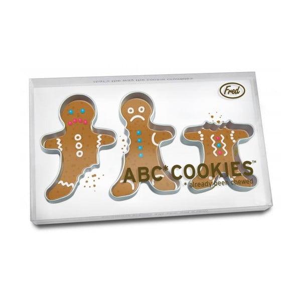 Vykrajovátka perníčků Fred ABC Cookies, 3 ks
