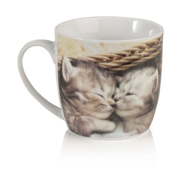 Porcelánový hrnek Sabichi Kitten, 350 ml