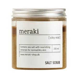 Solný scrub na tělo Meraki Silky mist, 250ml