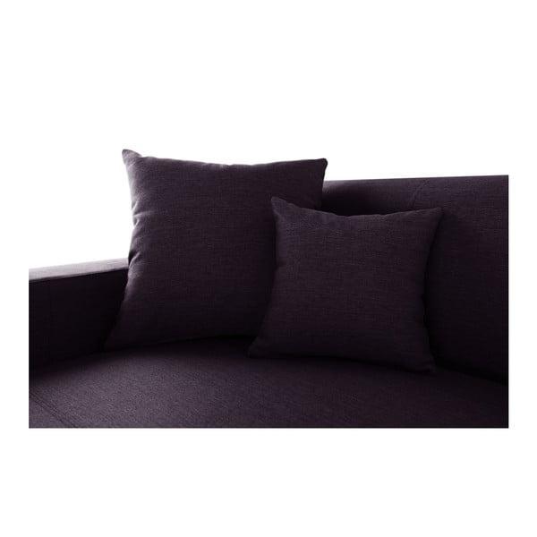 Švestkově fialová sedačka Interieur De Famille Paris Perle, levý roh