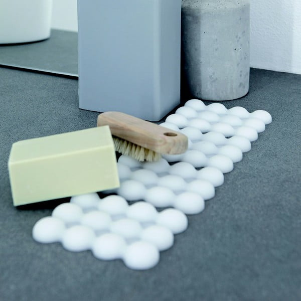 Protiskluzová miska na mýdlo Lebolle, bílá