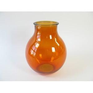 Skleněná váza Orange, 36 cm