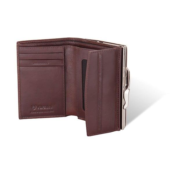 Kožená peněženka Valentini 131, hnědá