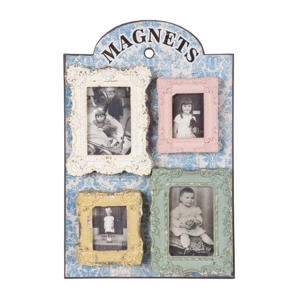Magnetická nástěnka s fotorámy Clayre