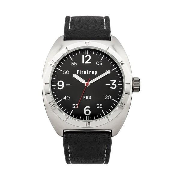 Pánské hodinky Firetrap Gents Black Strap/Black Dial, 39 mm