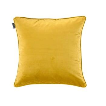 Față de pernă galbenă WeLoveBeds Dijon, 50 x 50 cm de la WeLoveBeds