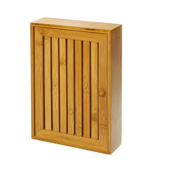 Suport din lemn de bambus pentru chei Unimasa , 19 x 27 cm
