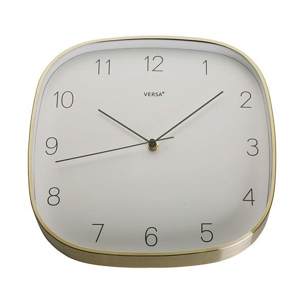 Závěsné hodiny ve zlaté barvě VERSA Gold