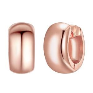 Dámské naušnice v barve růžového zlata Tassioni Patonia