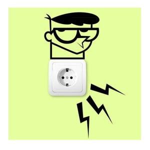 Samolepka Electric Lab for Plug