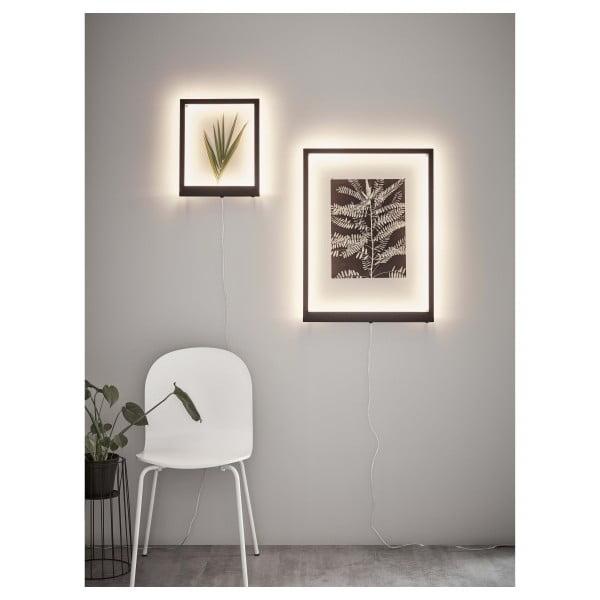Ramă luminoasă cu LED pentru perete Markslöjd Frame, 71 x 53 cm, alb