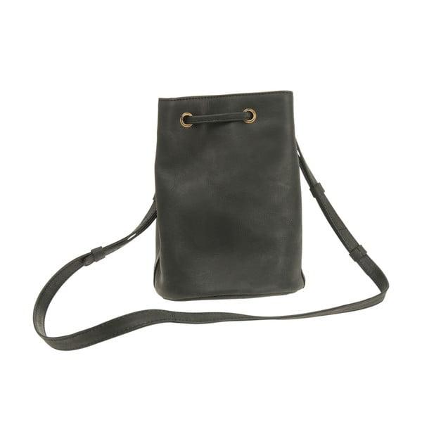 Kožený batoh Knapsack, černý