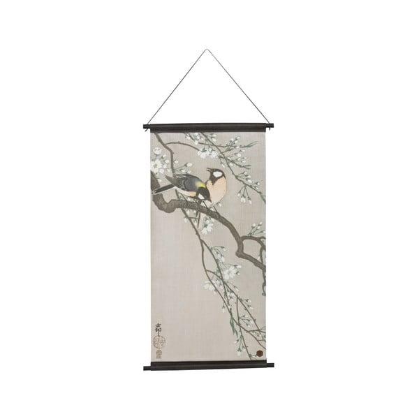 Poster de perete BePureHome Velvet Blossom, 55 x 110 cm