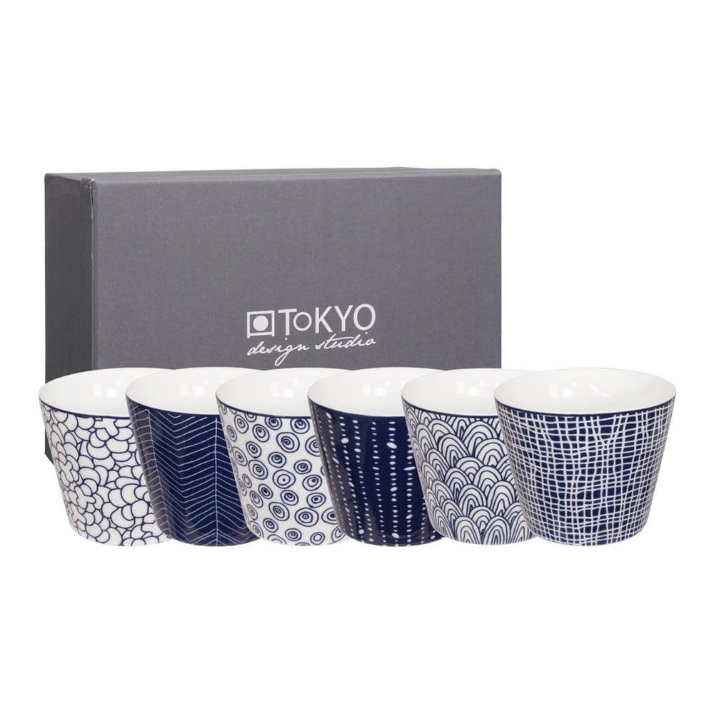 set 6 ce ti tokyo design studio le bleu de nimes 180 ml. Black Bedroom Furniture Sets. Home Design Ideas
