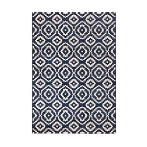 Covor Mint Rugs Diamond Ornamental, 80 x 150 cm, albastru