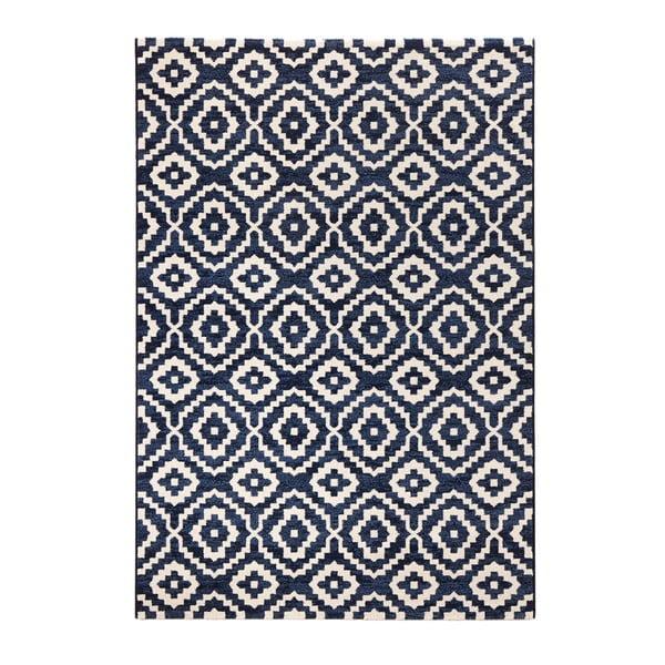 Modrý koberec Mint Rugs Diamond Ornamental, 160x230cm
