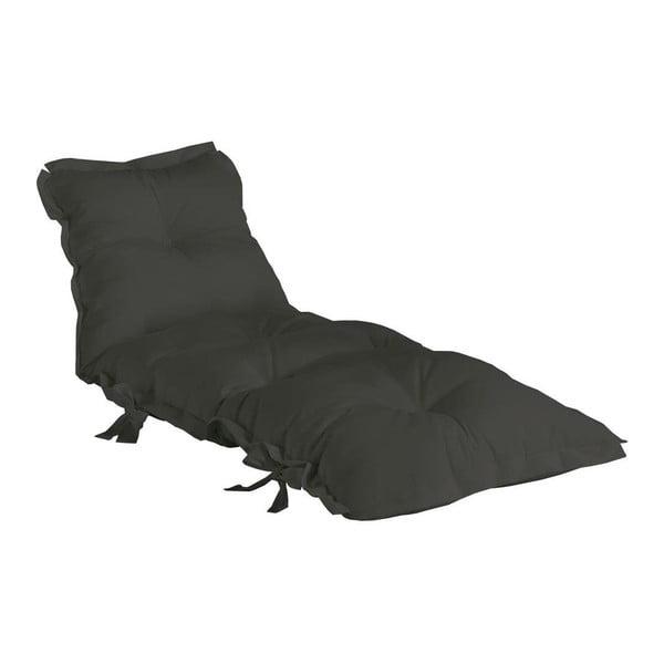 Tmavosivý variabilný futon vhodný do exteriéru Karup OUT™ Sit&Sleep Dark Grey