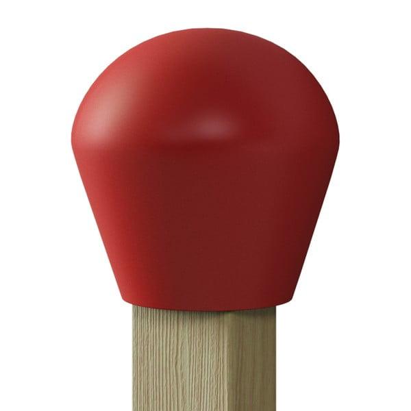 Věšák s odkládací poličkou Match, červený
