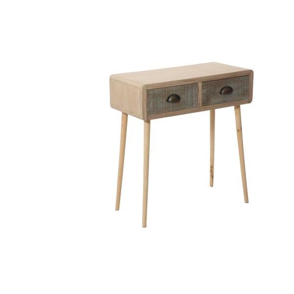 Konzolový stolek s dvěma zásuvkami Bolzonella