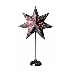 Svítící hvězda ve stříbrné barvě se stojanem Best Season Antique Silver, 55 cm