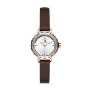 Dámské hodinky s koženým řemínkem Santa Barbara Polo & Racquet Club Eva
