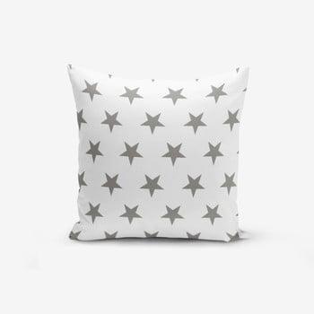 Față de pernă cu amestec din bumbac Minimalist Cushion Covers Grey Star, 45 x 45 cm de la Minimalist Cushion Covers