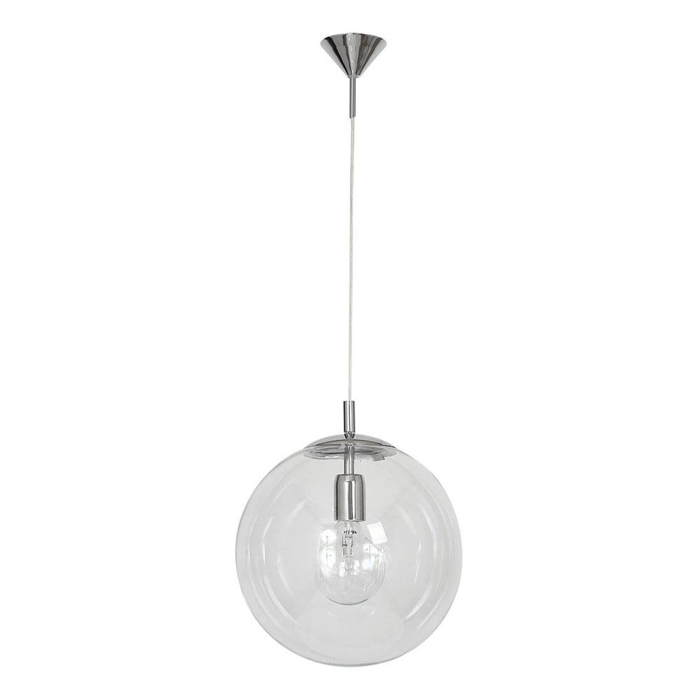 Závěsné svítidlo Glimte Globe Transparent