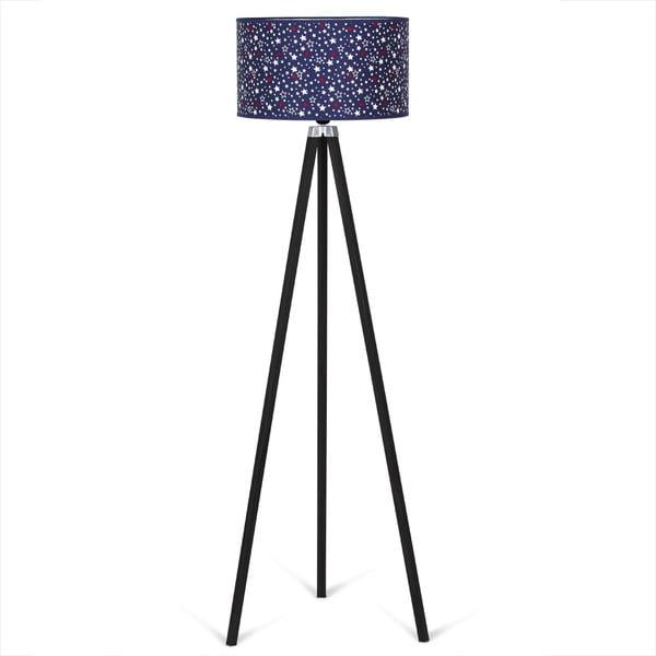 Lampadar Kate Louise Siyah Carro, albastru închis - negru