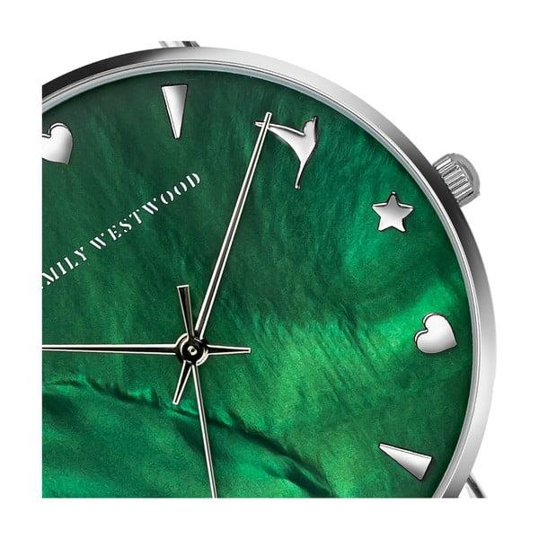 Dámské hodinky s páskem z nerezové oceli ve stříbrné barvě Emily Westwood Grace