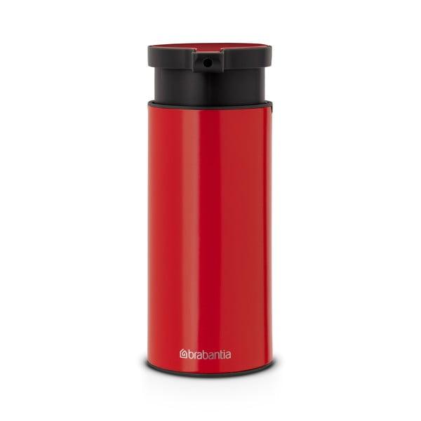 Červený dávkovač na mýdlo Brabantia Hian