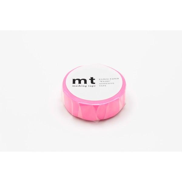 Zářivě růžová washi páska MT Masking Tape Uni