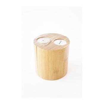 Solniță și piperniță din bambus Bambum Ginger imagine