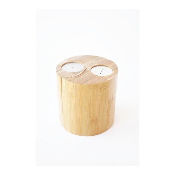 Bambusová soľnička a korenička Bambum Ginger