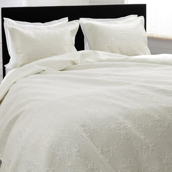 Přehoz přes postel Clara 260x250 cm, krémový