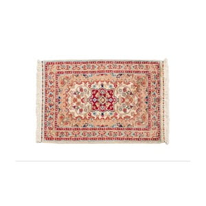 Ručně vázaný koberec Kashmirian, 92x63 cm