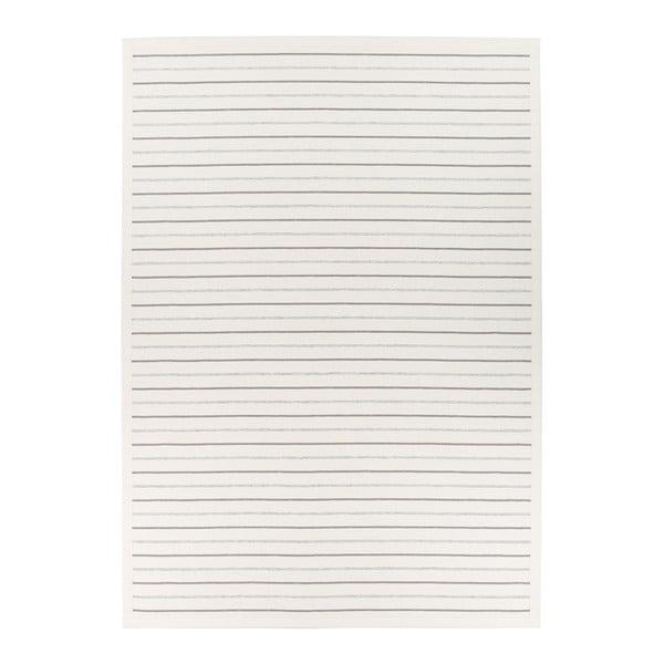 Bílý vzorovaný oboustranný koberec Narma Vao, 160x230cm