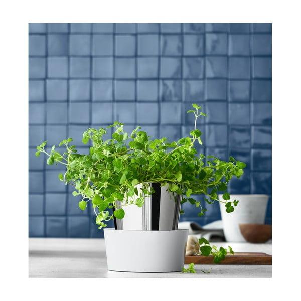 Ghiveci din oțel inoxidabil pentru verdețuri WMF Cromargan® Herb