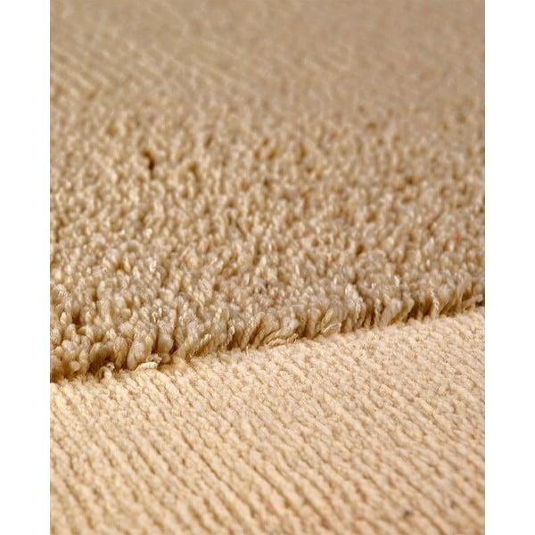 Vlněný koberec Dama no. 610, 120x160 cm, béžový