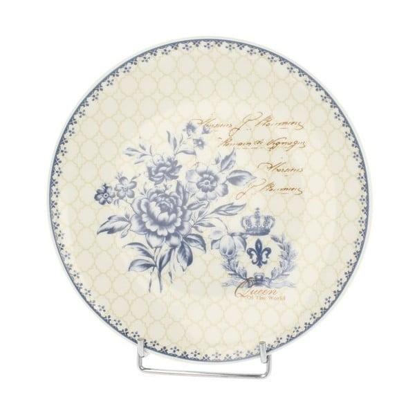 Talíř Blue Flowers, 20 cm