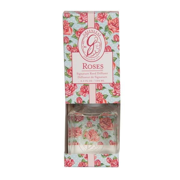 Difuzér s vůní růže Greenleaf Signature Roses, 124ml