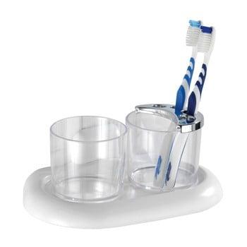 Suport pentru periuțele de dinți Wenko Pure, transparent