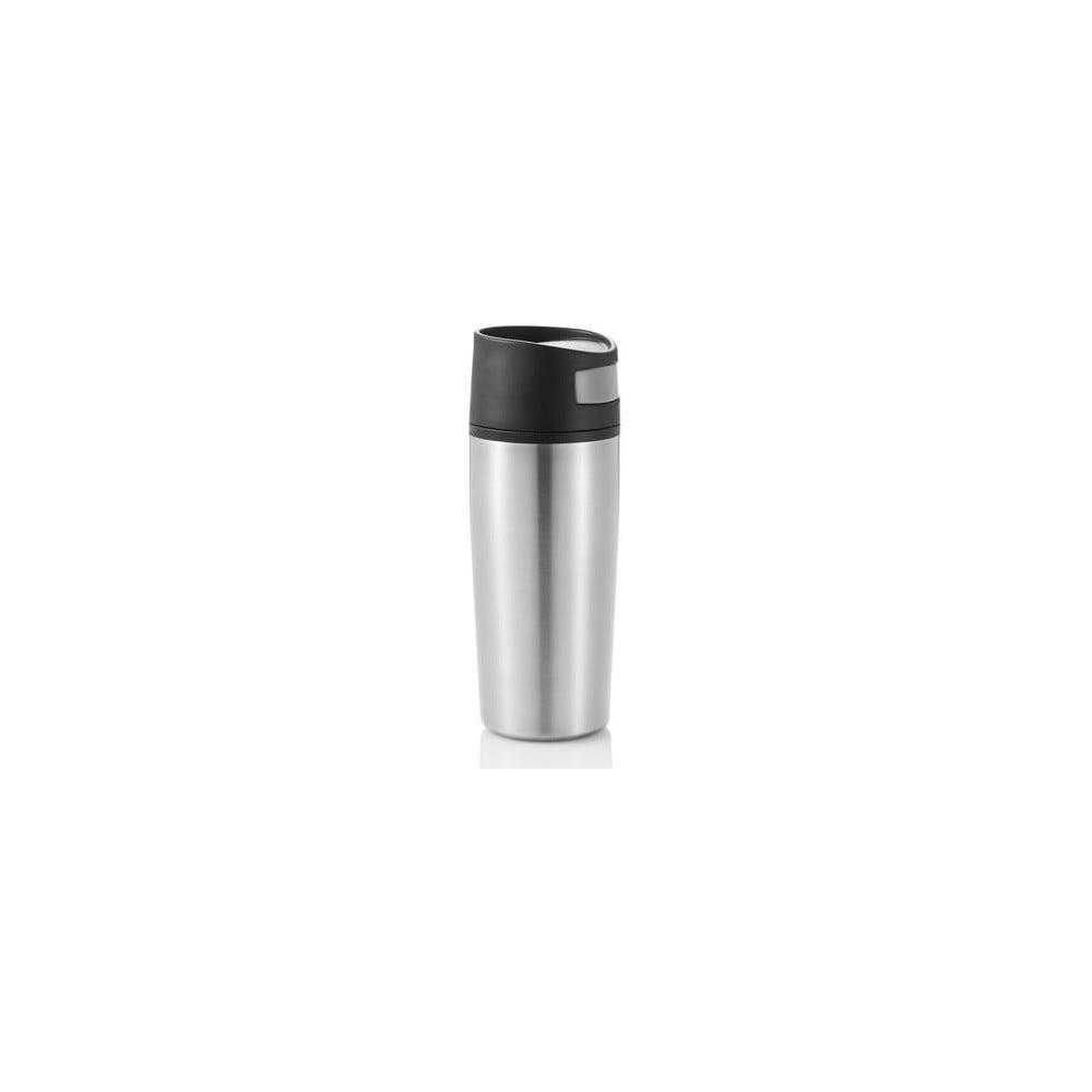 Stříbrný termohrnek do auta XD Design, 300 ml