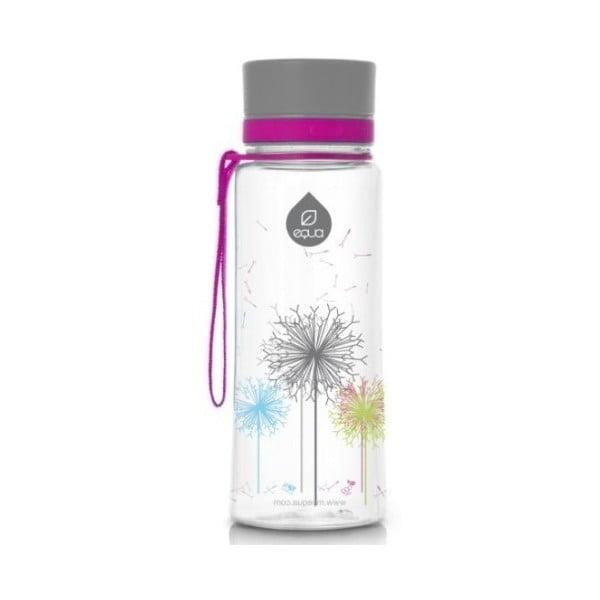 Sticlă din plastic reutilizabilă Equa Dandelion, 0,4 l