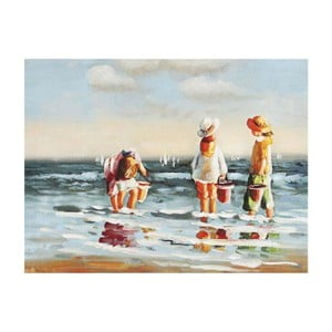 Obraz Radost u moře, 40x30 cm