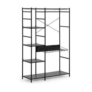 Dulap La Forma Storn, înălțime 182 cm, negru imagine