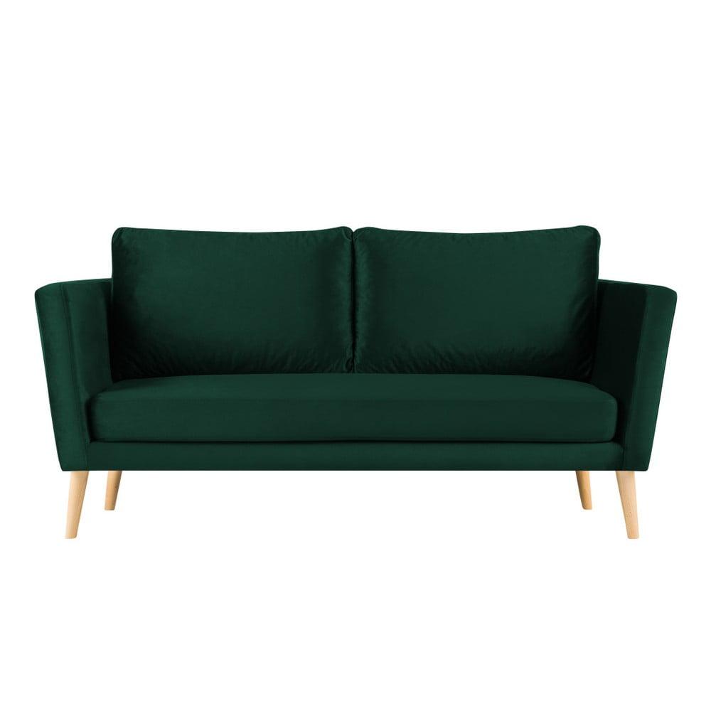 Zelená třímístná pohovka Paolo Bellutti Julia