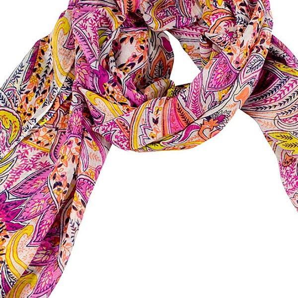Šátek s příměsí hedvábí Shirin Sehan - Nadine Weet