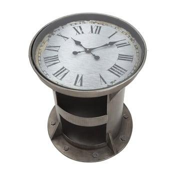 Masă de cafea cu ceas funcțional Mauro Ferretti Bolt, ⌀ 50 cm de la Mauro Ferretti